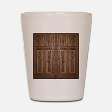 Wooden Door Shot Glass