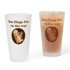 San Diego Fan on the way Drinking Glass