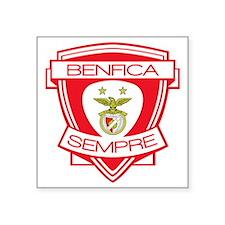 "Benfica  Sempre (Always) Fo Square Sticker 3"" x 3"""