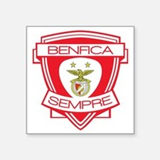 "Benfica  Sempre (Always) Fo Square Sticker 3"" x 3"""