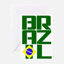 Brazil (3) Greeting Card