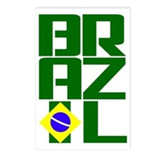 Brazil (3) Postcards (Package of 8)