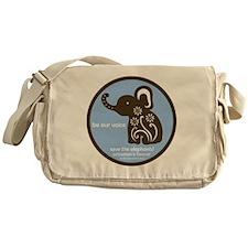 SAVE THE ELEPHANTS! Messenger Bag