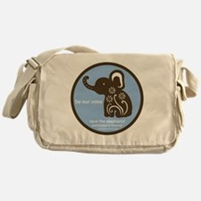 SAVE THE ELEPHANTS! Messenger Bag