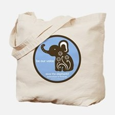 SAVE THE ELEPHANTS! Tote Bag