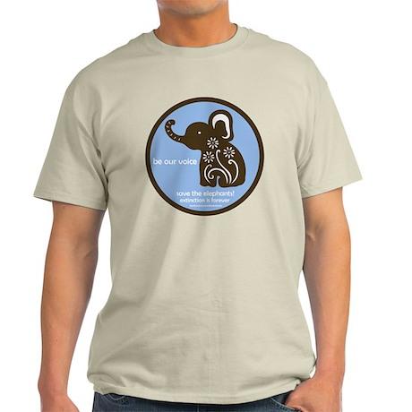 SAVE THE ELEPHANTS! Light T-Shirt