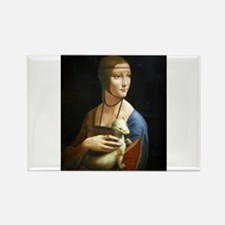 Lady With an Ermine - da Vinci Magnets