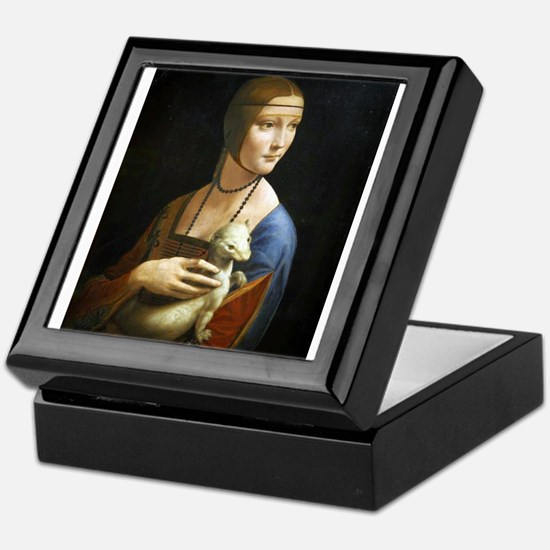 Lady With an Ermine - da Vinci Keepsake Box