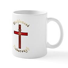 Cross logo double Small Mug