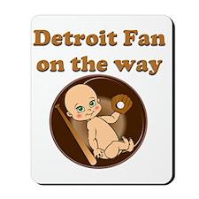 Detroit Fan on the way Mousepad