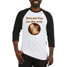 Detroit Fan on the way Baseball Jersey