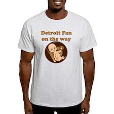 Detroit Fan on the way T-Shirt