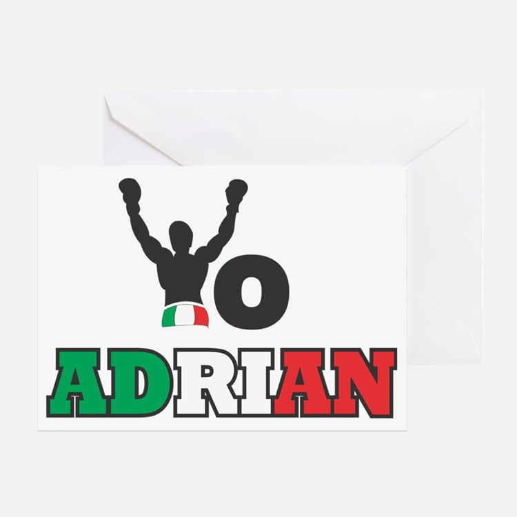 Yo Adrian Greeting Card