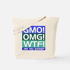 GMO callout Tote Bag