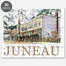 Juneau Old Witch Totem Nugget Shop Puzzle