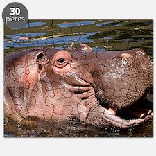 Happy Hippo Puzzle