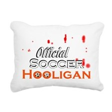 Official Soccer Hooligan Rectangular Canvas Pillow
