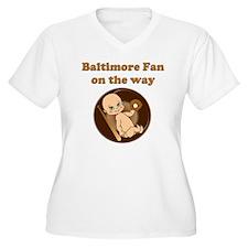Baltimore Fan on  T-Shirt