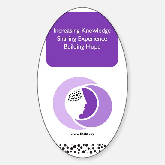 LBDA Sigg Bottle Sticker (Oval)