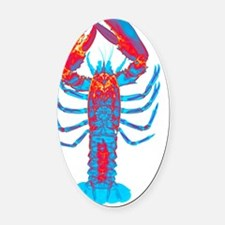 Lobster, X-ray Oval Car Magnet