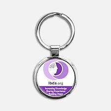 LBDA Keyring Round Keychain