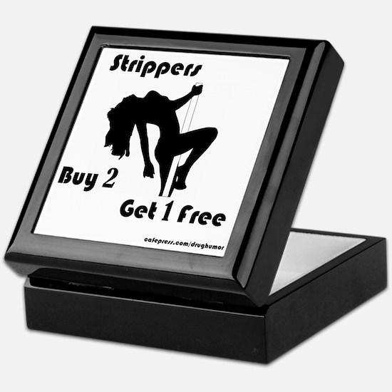Buy 2 Strippers Get 1 Free Keepsake Box