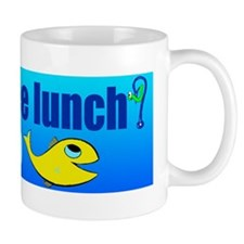 free lunch - learn to fish Mug