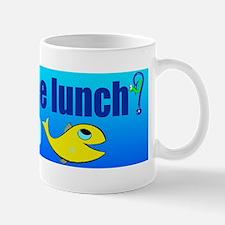 free lunch - learn to fish Mug