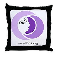 LBDA Doggy Shirt Throw Pillow