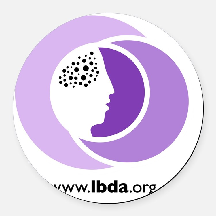 LBDA Doggy Shirt Round Car Magnet