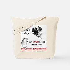 Mastiff BSL Tote Bag
