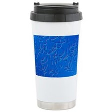 LM of Brugia malayi, worm causi Travel Mug