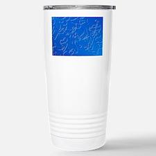 LM of Brugia malayi, worm causi Travel Mug