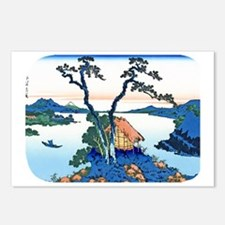 Hokusai Mt. Fuji View fro Postcards (Package of 8)