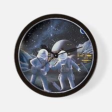 Lunar survey team Wall Clock