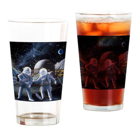 Lunar survey team Drinking Glass