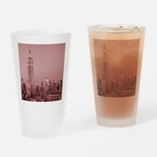 NYC, Empire State, Drinking Glass