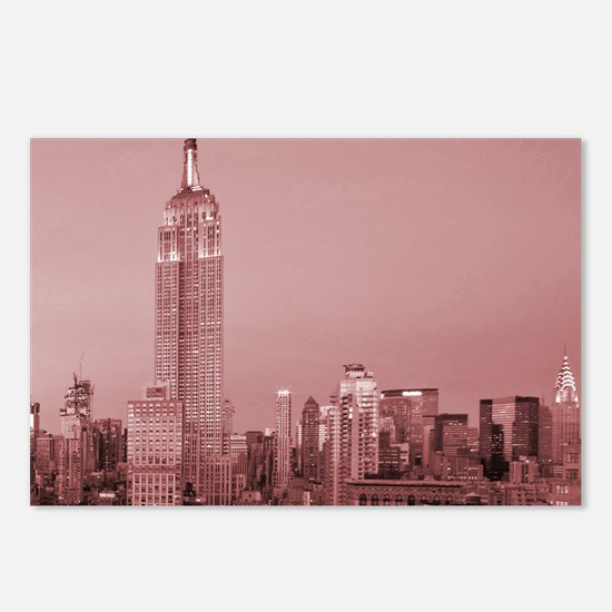 NYC, Empire State, Postcards (Package of 8)