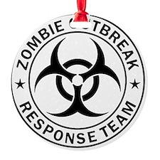 ZOMBIE RESPONSE TEAM R0001 Ornament