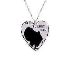 Thinking Turkey 24 7 0001 Necklace Heart Charm