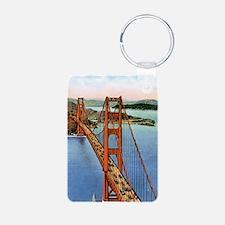 Vintage Golden Gate Bridge Keychains