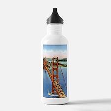 Vintage Golden Gate Br Water Bottle
