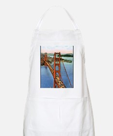 Vintage Golden Gate Bridge Apron