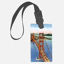 Vintage Golden Gate Bridge Luggage Tag