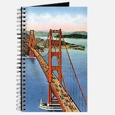 Vintage Golden Gate Bridge Journal