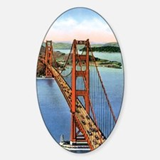 Vintage Golden Gate Bridge Decal