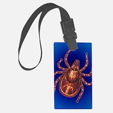 Lyme disease tick Luggage Tag