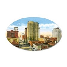 Vintage Birmingham Wall Sticker