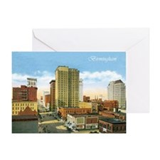Vintage Birmingham Greeting Card