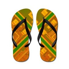 LM of 3 memory silicon chips Flip Flops